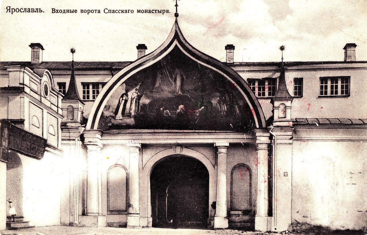 Спасский монастырь. Входные ворота