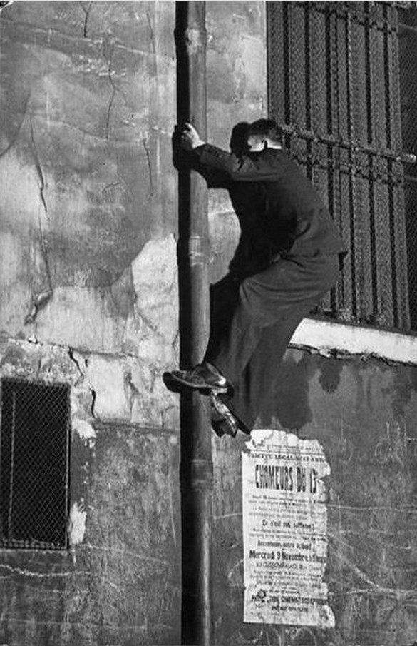 1931. Убегая от полиции