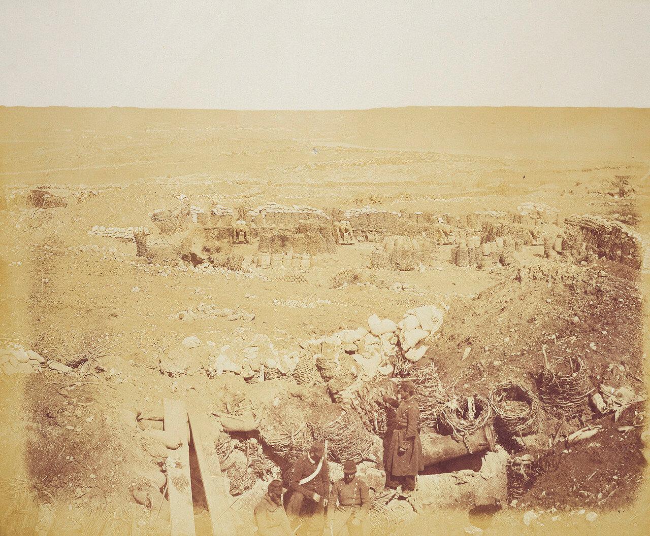 Севастополь. Внутренний вид Малахова кургана