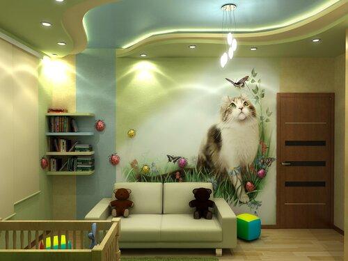 дизайн детской комнаты (53)