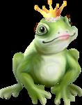 Scrap set The Frog Prince