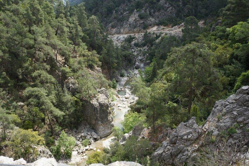 Турция, каньон Гейнюк