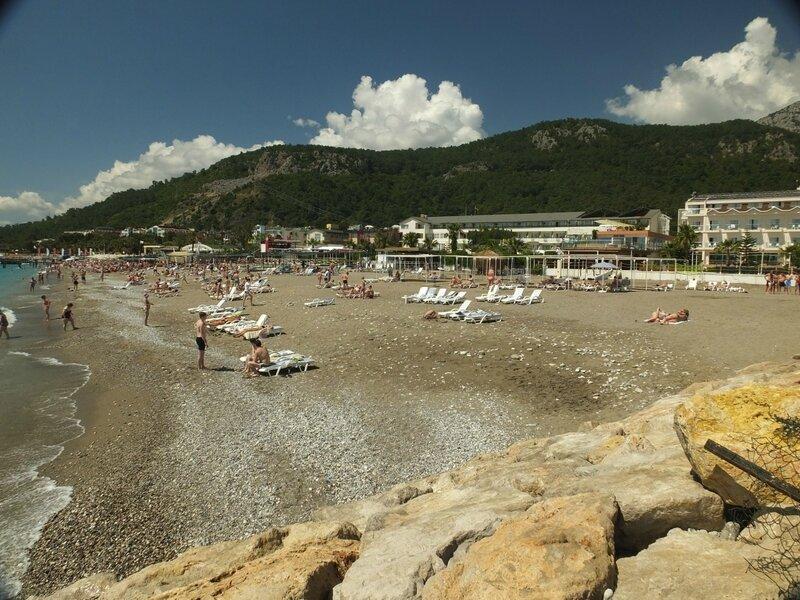 Турция, пляж