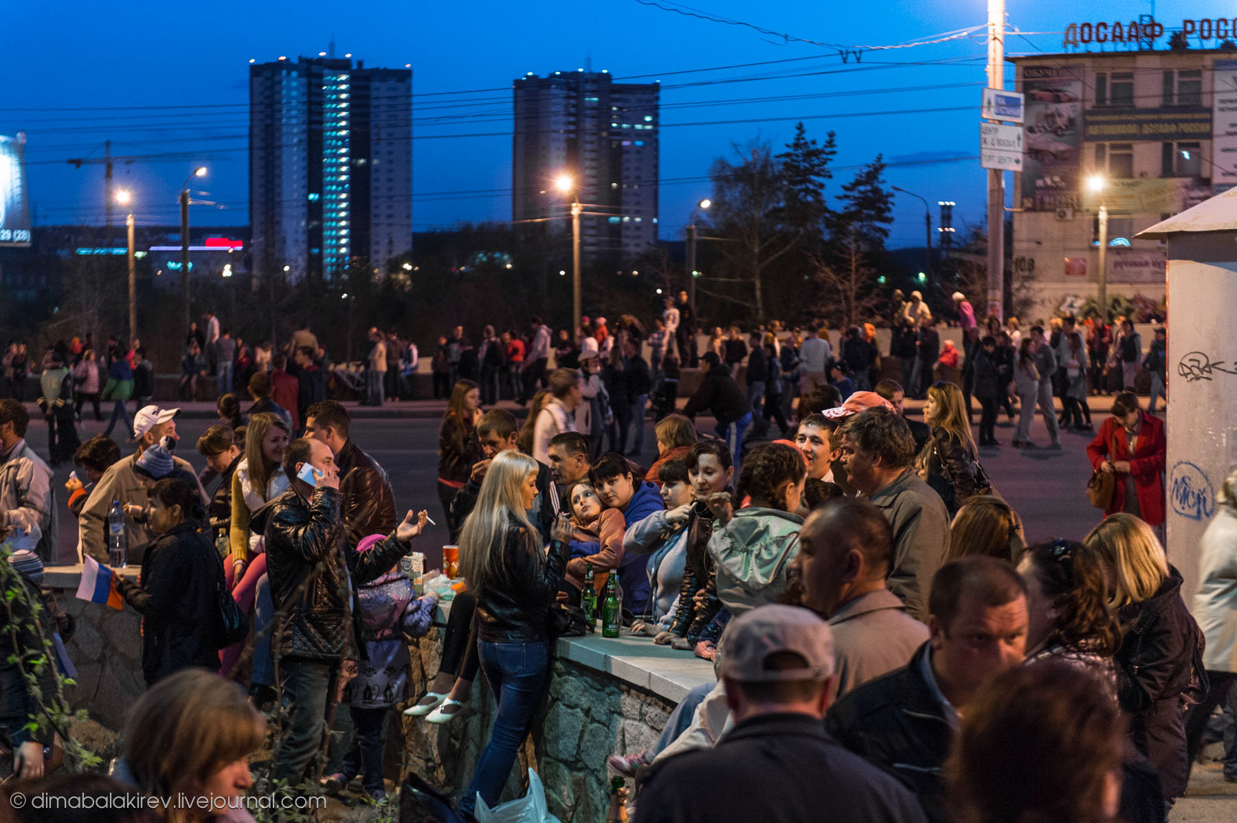 Салют 9 мая в Челябинске 2014