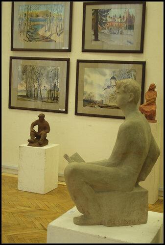 Владимир Прошкин (Живопись, графика) Кира Суворова (Скульптура)
