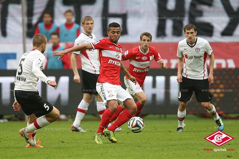 «Спартак» vs «Амкар» 1:0 Премьер-лига 2013-2014