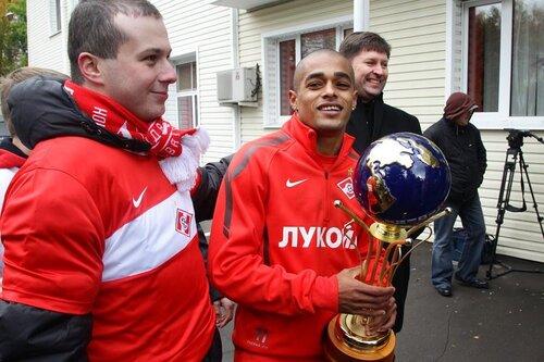 Тренировка Спартака 14-10-2011