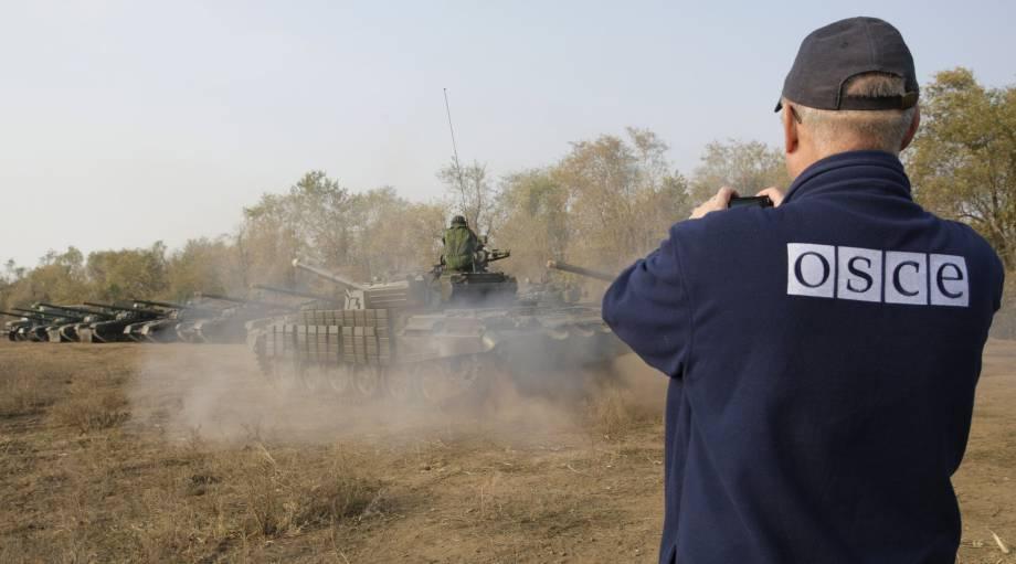 """Вооруженные боевики """"ЛНР"""" не пропустили наблюдателей на военный полигон, - ОБСЕ"""