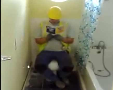 В туалет на рабочем месте нужно ходить быстрее