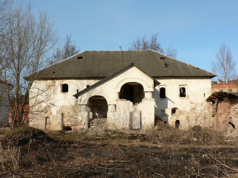 Дом Печенко в Пскове (апрель 2010)
