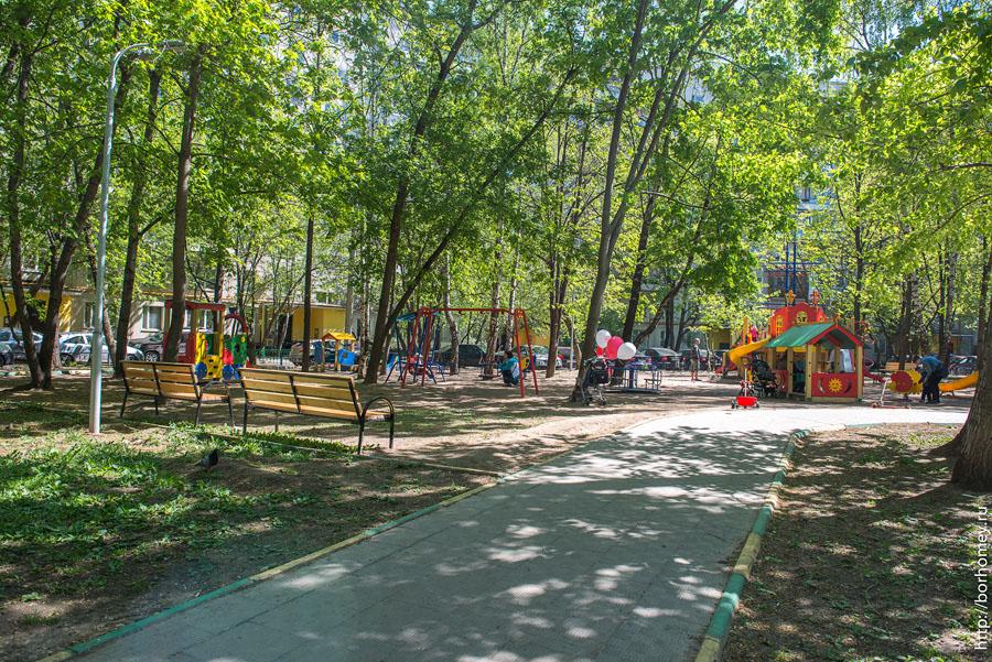 детские площадки москвы
