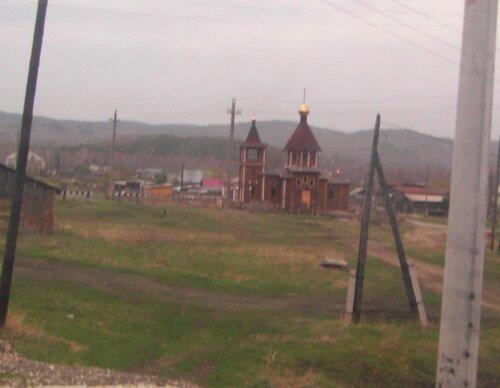 Деревянная церковь вМауке