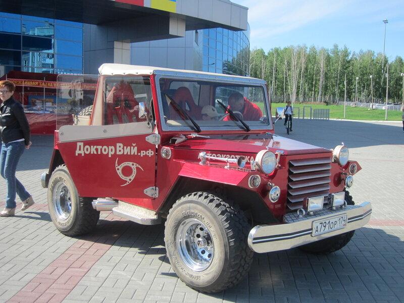 Полусамодельный джип (сделан на основе ГАЗ-67) (20.05.2014)