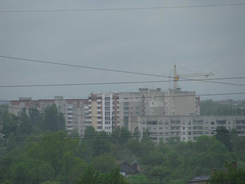 Вул. Демнянська - вигляд з Тернопільсько 21