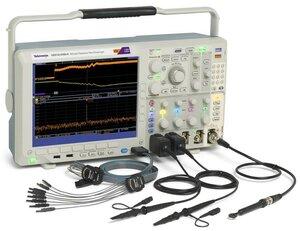 Осциллограф смешанных сигналов с анализатором спектра MDO4014B-3 - с аксессуарами