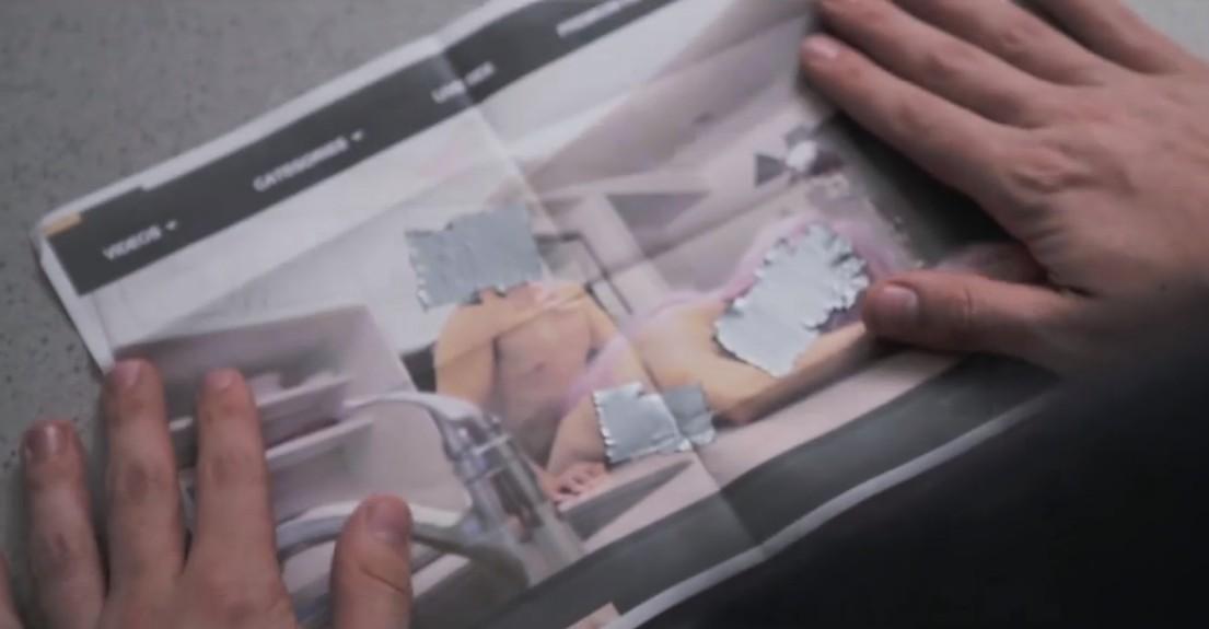 замена смесителя на кухне кадр из фильма бесплатные установки