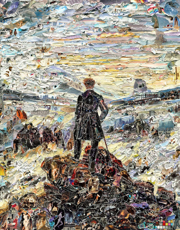 Картины современного художника Вика Муниса