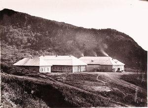 Вид домов, где находилась Воеводская рудничная тюрьма (для совершивших тяжкие преступления  и получивших большие сроки заключения).