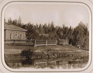 Вид на дом начальника дистанции при Пензенском шлюзе.