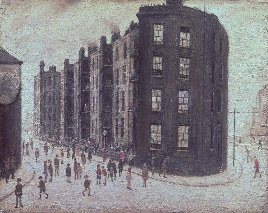 Dwelling, Ordsall Lane, Salford 1927 by L.S. Lowry 1887-1976