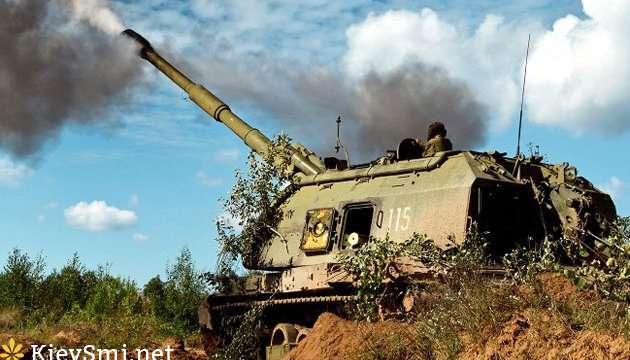 Боевики 20 раз обстреляли позиции ВСУ, используя тяжелую артиллерию— Штаб АТО
