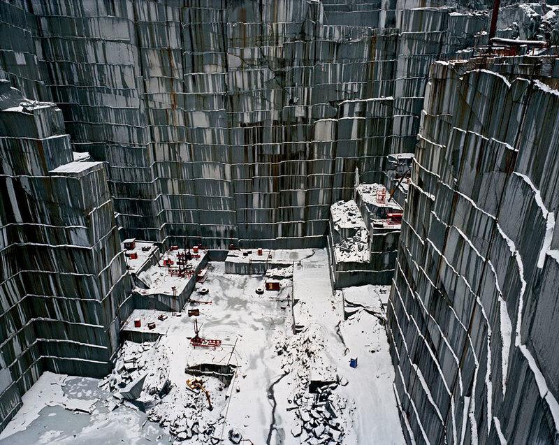 Индустриальные пейзажи Эдварда Бартински (Edward Burtynsky)