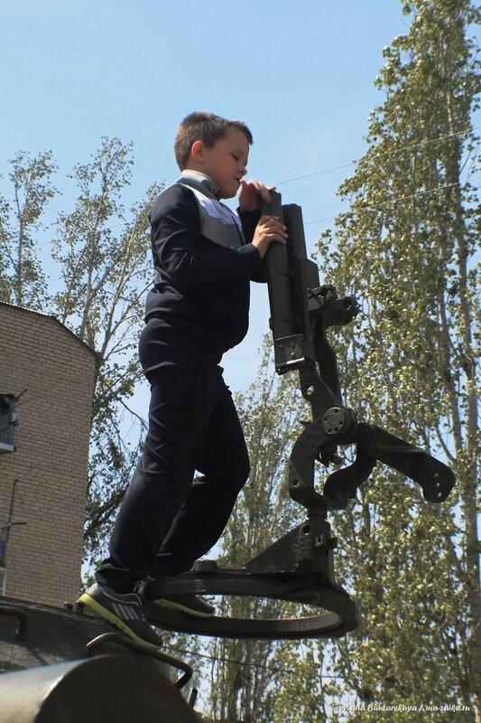 Тяжёлый танк ИС-3 (Иосиф Сталин), Маркс, 10 мая 2014 года