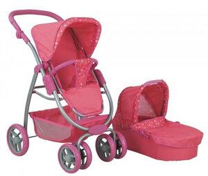 Кукольная коляска для куклы Buggy Boom 8062 нежная.jpg
