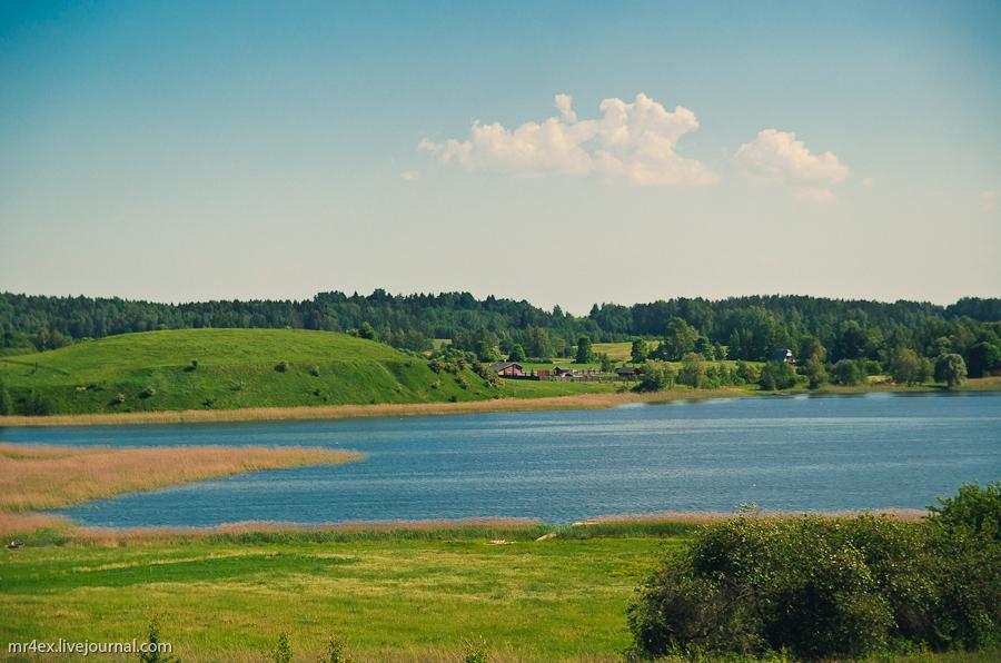 Браслав, Браславские озера, городище викингов, Масковичи, озеро Несьпиш