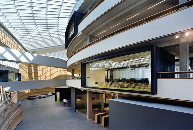 Новый офис British Petroleum в Роттердаме, Нидерланды