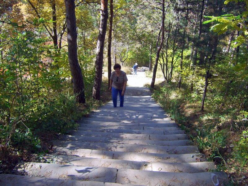 Лестница на Сосновую гору