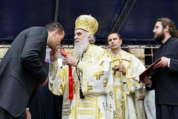 Организация «Сербы сербам» получила высокую награду от Сербской церкви