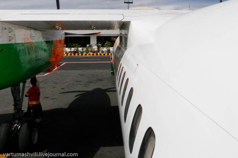 Филиппины, перелет из Манилы в Бусуангу