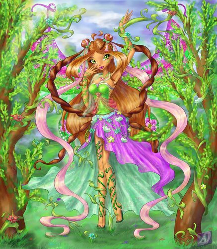 Игра Легенда о Драконах и феи винкс