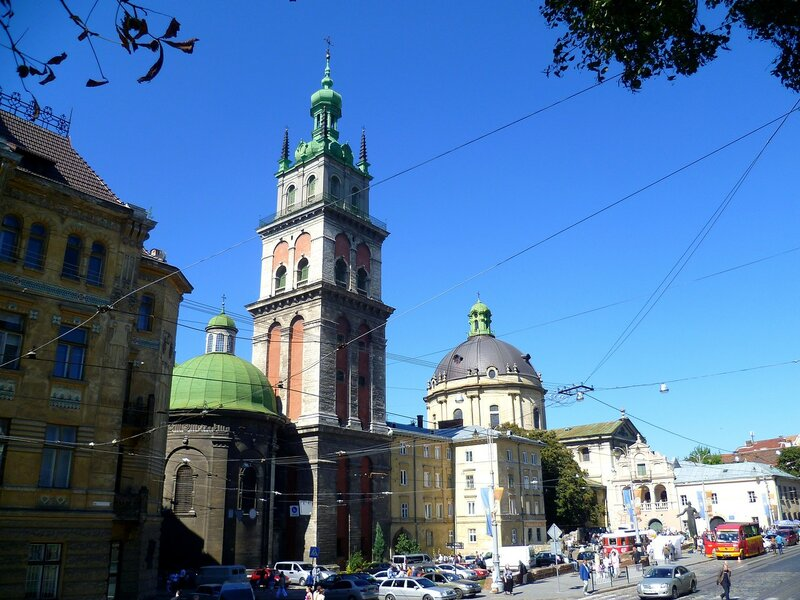 Львов, Успенская церковь (Lviv, Church of the Assumption)