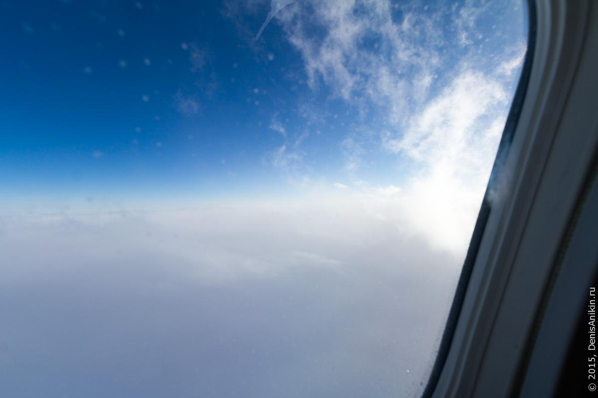 Полёт Саратов - Санкт-Петербург 17