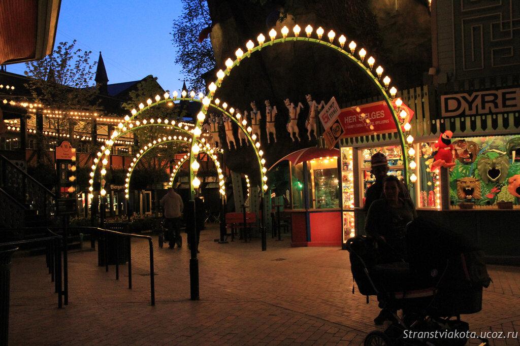 Парк развлечений Тиволи, Копенгаген, фото