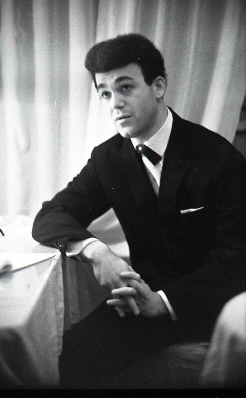 Кабзон в Челябинске. Декабрь 1963 г.