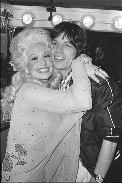 Dolly Parton & Mick Jagger