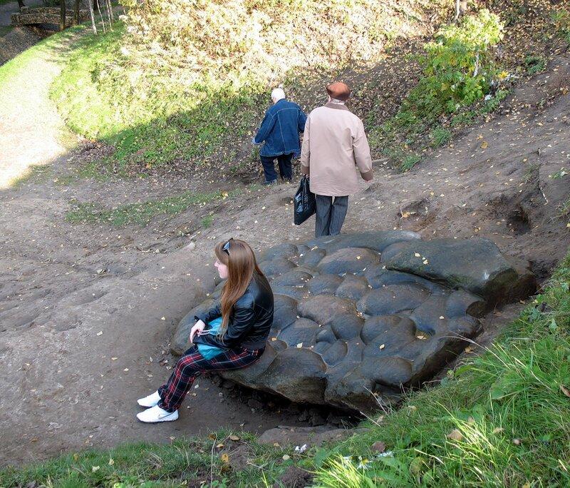Дэвий камень в Коломенском