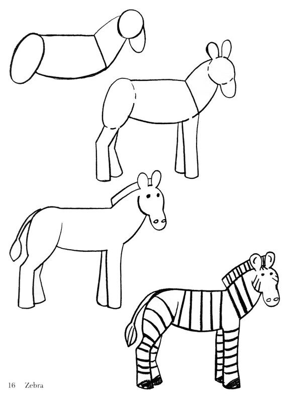 Учимся рисовать с детишками.Быстро и понятно)