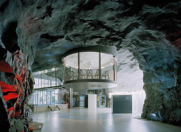 Pionen White Mountain (Белые Горы Пионен). Стокгольм, Швеция