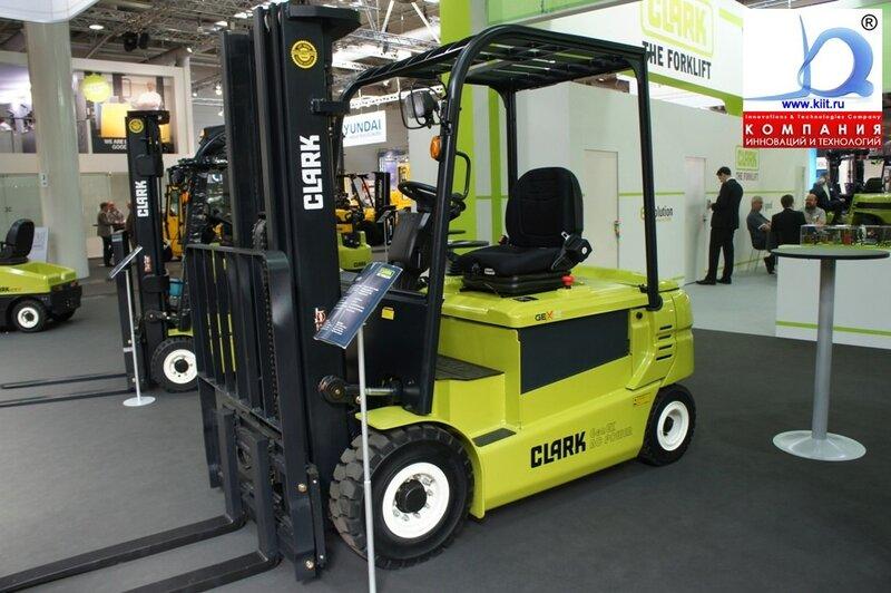 2500 кг купить электрический погрузчик CLARK GEX 25 грузоподъёмностью 2500 кг