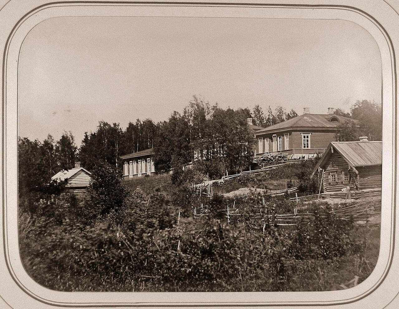 Вид дома начальника отделения и канцелярии у Рязанского шлюза