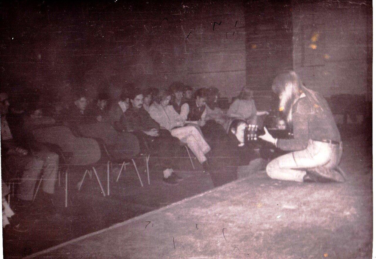 1991. Выступление в Ангарском ДК Строителе