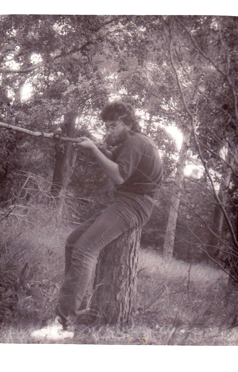 1992. В Усольском лесу