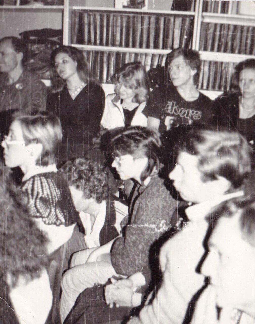 1989. Иркутск. Концерт в библиотеке им. Ленина