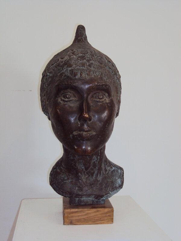 Пупин П.С. Род. 1954. Женский портрет