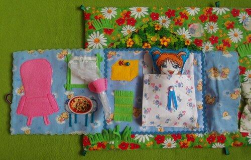 Домики развивалки для детей и книжка