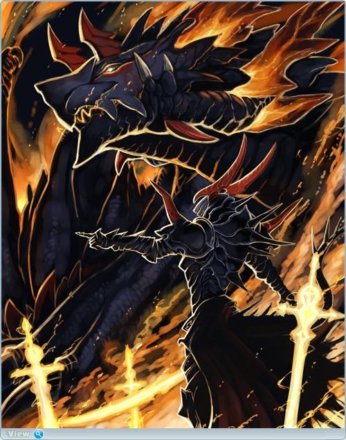 Драконы картинки в аниме